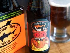 October means punkin ale! My favorite! Delaware's Dogfish Head - Punkin Ale