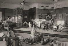 Aleksei's Playroom.   I love the teepee.