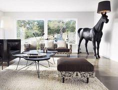 Philippe Starck. Horse lamp.