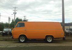 1967 Ford Econoline Heavy Duty Panel Van.