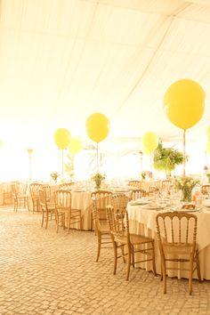 ADORO: Decoração casamento com balões // Wedding decoration with balloons