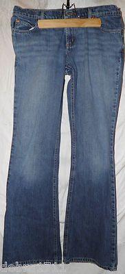 "TODD OLDHAM JEANS ladies denim blue jeans 28 waist x 32 inseam 81/2"" rise"