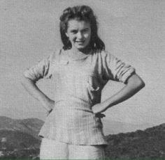Norma Jeane aka Marilyn Monroe