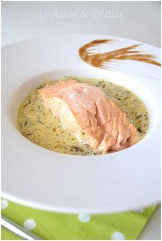 Saumon et sa sauce à l'Oseille