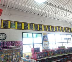 Utah Idaho Supply is showing off all of their Inspire U Posters! Adding some inspiration to their store walls.