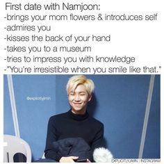 Image result for imagine bts namjoon scenarios