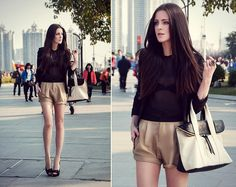 Two Toned (by Katerina Kraynova) http://lookbook.nu/look/4578497-Two-Toned