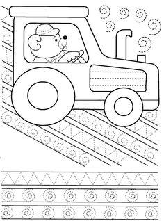 Tracing line worksheet Drawing Activities, Motor Activities, Craft Activities For Kids, Educational Activities, Pre Writing, Writing Practice, Writing Skills, Preschool Writing, Preschool Learning
