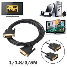 2.36$  Buy here - http://aliu18.shopchina.info/go.php?t=32767311769 - 1M 1.8M 3M 5M Digital Monitor DVI D to DVI-D Gold Male 24+1 Pin Dual Link TV Cable  For TFT Monitor FW1S 2.36$ #aliexpress