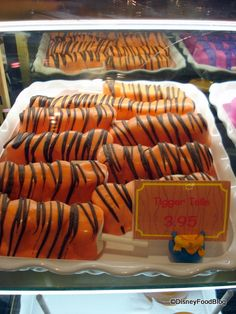 Tigger Tails at Pooh's Corner in Critter Country. Love these!