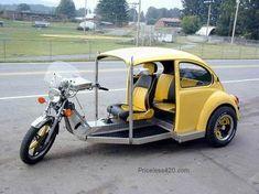 VW Beetle Vespa