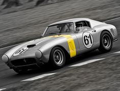 Vincent Gaye / Vern Schuppan - 1960 Ferrari 250 GT SWB-C at the Goodwood Revival 2009 *Explored* by _DaveAdams, via Flickr
