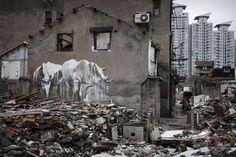 Faith47 in Shanghai China! (The Street Art Curator)