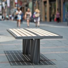 Banc TORONTO bois – mobilier urbain area