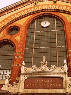By CNN the number one market of Europe - Great Market Hall Budapest Émile Zola, the French authorwrote that Les Halles is the stomach of Paris. This could also be said of the Great Market Hall: it is. Number One, Budapest, Big Ben, Bugs, Europe, Paris, Marketing, Beetles, Insects