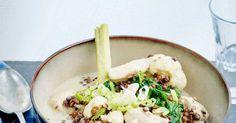 Curry de lentilles au poulet