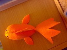 Felt Goldfish Cat Toy - HOME SWEET HOME