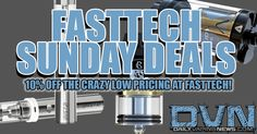 DEALS: Sunday FastTech Deals! IJOY Combo RDTA $26.74; IJOY Limitless XL $27.13; iJust 2 Starter Kit $22.98; 5 100mL PET Bottles $3.15; and 20 18650 Wraps in Superman, Capt. America or The Flash for $2.01. ALL DEALS SHIP FREE! These deals are for TODAY ONLY! #vapecontest #vapergiveaway #modswag #vapestagram #vapelife #vapedaily #ecig #vapelove #instavape #regrann #cloudchasers #handcheck #vapeworld #vgod #dripclub #ukvapers #calivapers #joose #jooselife #vapeporn #vapeon #vapelyfe #vapefam…