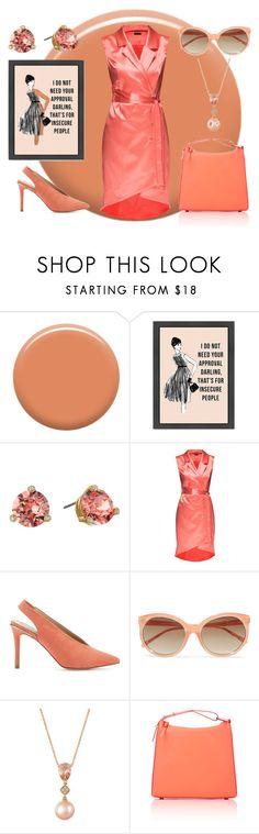 """Untitled #1183"" by moestesoh ❤ liked on Polyvore featuring Lauren B. Beauty, Kate Spade, Lattori, Miss Selfridge, Linda Farrow, LE VIAN and 3.1 Phillip Lim"