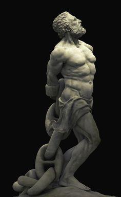 portionsofeternity:  Prometheus Bound by Scott Eaton
