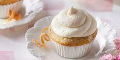 Lady Grey Cupcakes with Orange Zest Frosting