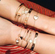 Bracelets – Page 9 – Modern Jewelry Dainty Jewelry, Cute Jewelry, Luxury Jewelry, Modern Jewelry, Jewelry Accessories, Fashion Accessories, Fashion Jewelry, Gold Jewelry, Cartier Bracelet