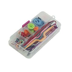 niceEshopTM Basic Knitting Tools Accessories Supplies Mini Sewing Kit Random Color -- Visit the image link more details. Note:It is affiliate link to Amazon.