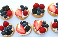 Patriotic Cookie Tarts