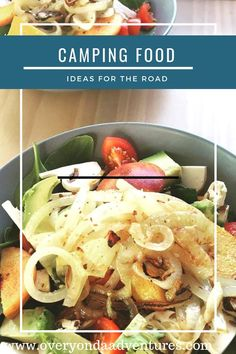 Stuck for some healthy camping food ideas? These are the tasty recipies that we use. Perfect for all campers whether on a bike or in a bus. Camping Meals, International Recipes, Street Food, Food Hacks, Food Ideas, Recipies, Tasty, Chicken, Campers