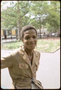 """Marcia P. Johnson. Another very influential person for transgender people everywhere and very powerful in the POC spectrum. She started S.T.A.R along with Sylvia Rivera.    She has stated that the """"P"""" in her name stand for """"Pay it no mind."""" Which I think is something that we can all relate to and use n our daily lives."""