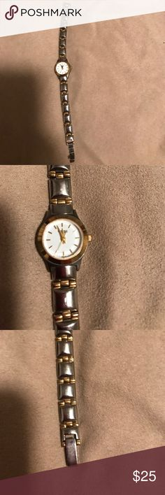 Caravelle by Bulova watch Great condition Caravelle by  Bulova watch only needs a battery Bulova Jewelry