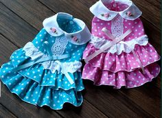 New Lace with Flounced Ring Small Dog Puppy Pet Apparel Clothing Dress Shirt