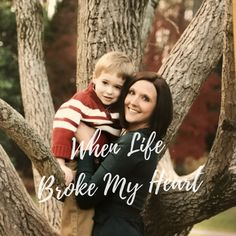 When you think of heartbreak, your mind often goes to broken relationships. Read about my story behind the #whenlifebrokenheart shirt. #whenlife #whenlifeblog #brokenheart #lifestyle #autism