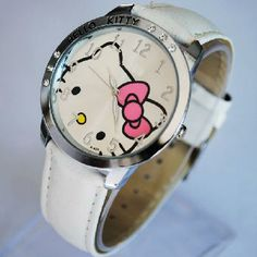 New white hello kitty watch!FREE SHIPPING!