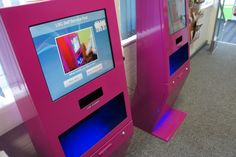 Customised RFID serveIT E-Series units at John Leggott College from D-Tech International.