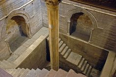 """'nilometer', a device to predict the level of flood water // an essential tool for control of Egypt. It had to be kept secret by the ruling class and institutions, because it was a central component of their authority""""."""