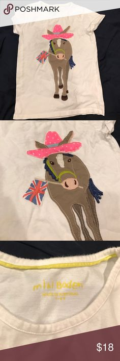 Mini Bodensee donkey shirt Mini Bodon donkey shirt Mini Boden Shirts & Tops Tees - Short Sleeve