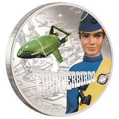Thunderbird 2 Silver Coin