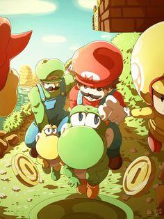 New Super Mario Bros wallpaper