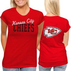 #Fanatics  Kansas City Chiefs Womens Game Day T-Shirt - Red