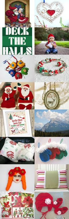❤  ❤  Santa's Bag of Favorites  ❤  ❤ by Maria Plover on Etsy--Pinned with TreasuryPin.com