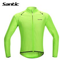 Santic Цикл Джерси Куртка Дождя Водонепроницаемый Велоспорт Одежда/Одежда Велосипед MTB Велосипед Цикл Куртка Водонепроницаемый ветрозащитный Windcoat(China (Mainland))