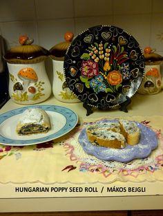 Hungarian Desserts, Hungarian Food, Hungarian Recipes, English Food, Hungary, Eat Cake, Poppy, Seeds, Rolls