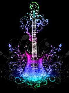 You Are Viewing The Iphone Wallpaper Named Music Is Love Cellphone Guitar