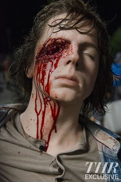 Carl grimes... Omg that's awesome and awful all at the same time