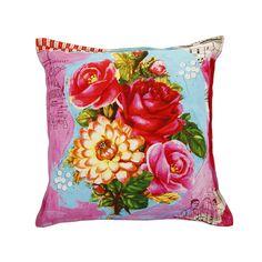 Discover the Pip Studio Art Flowers Cushion - 45x45cm at Amara