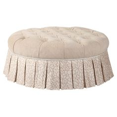 Tiffany Tufted Cocktail Ottoman