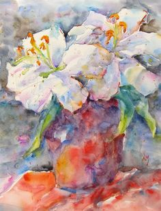 May Lilies ~ Nora MacPhail