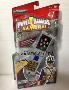 Power Rangers Samurai Samuraizer Morpher Phone Sounds retired 2011 super gold #Bandai
