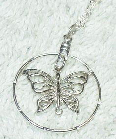 Butterfly Necklace by soberwear on Etsy